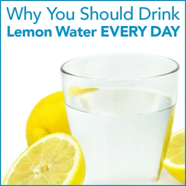 Why You Should Drink Lemon Water Everyday